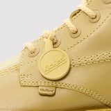 Kickers Kick Hi Leather Boots - Light Tan - logo