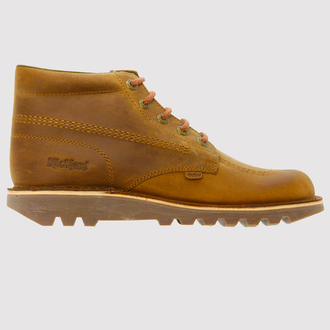 Kickers Kick Hi Leather Boots AW17 - Brown