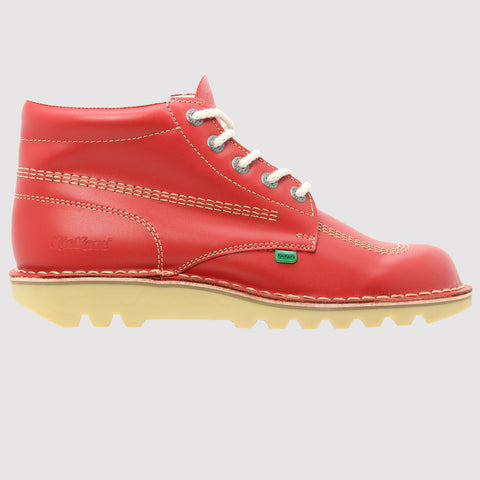Kickers Kick Hi Classic Boot - Red