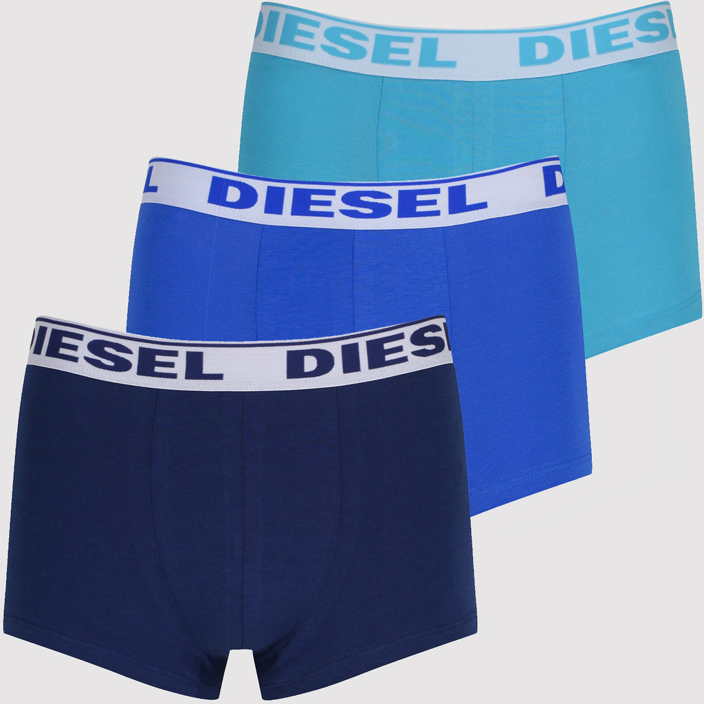 Diesel Boxer Trunks Set - Blue