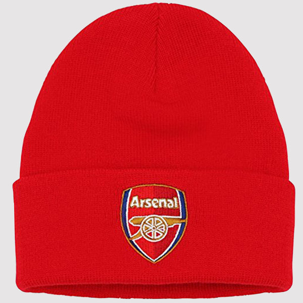 Official Arsenal FC Beanie Hat - red