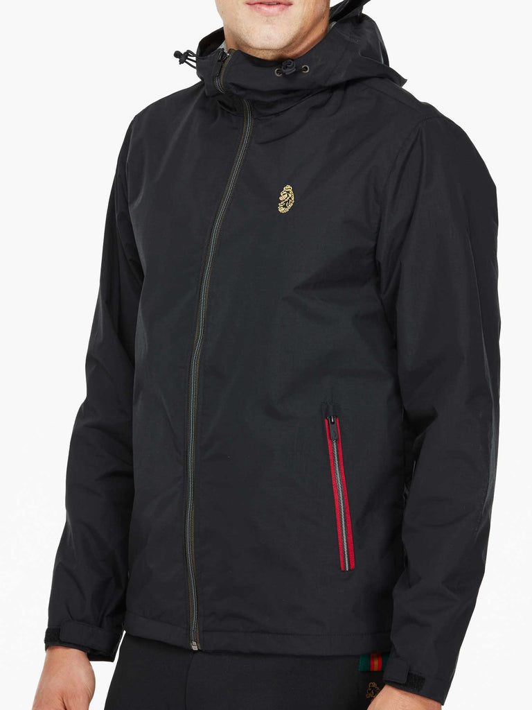 Luke Sport Raleighs Jacket - Black - front