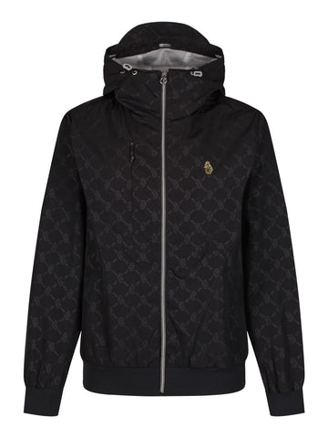 Luke Sport Francis Technical Hooded Jacket - Black