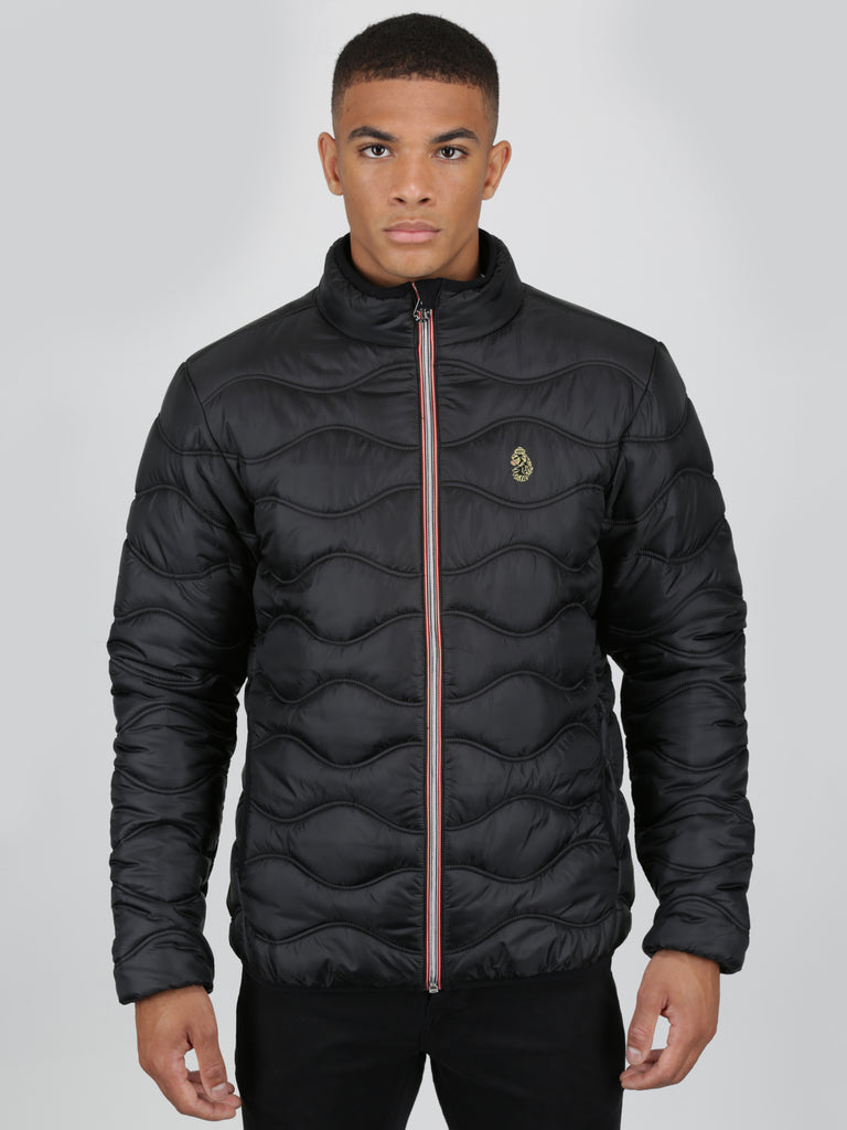 Luke Sport Ruby Quilted Jacket - Black - front