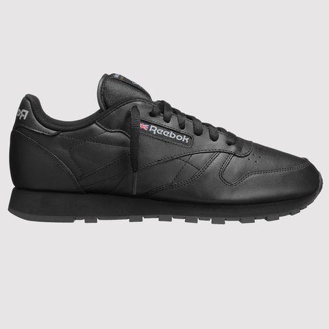 Reebok Classic Leather Trainers - Black