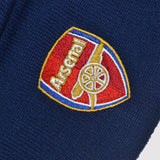 Official Arsenal FC Beanie Hat - blue detail