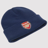 Official Arsenal FC Beanie Hat - blue - front