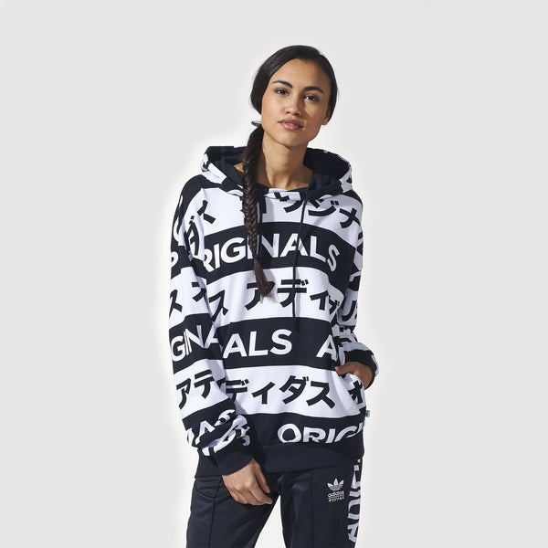 adidas Originals Typo Women's Japanese Hoodie