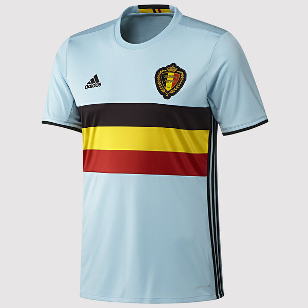 adidas Belgium National Team Away Jersey 16-17 - Blue - AA8736 - front