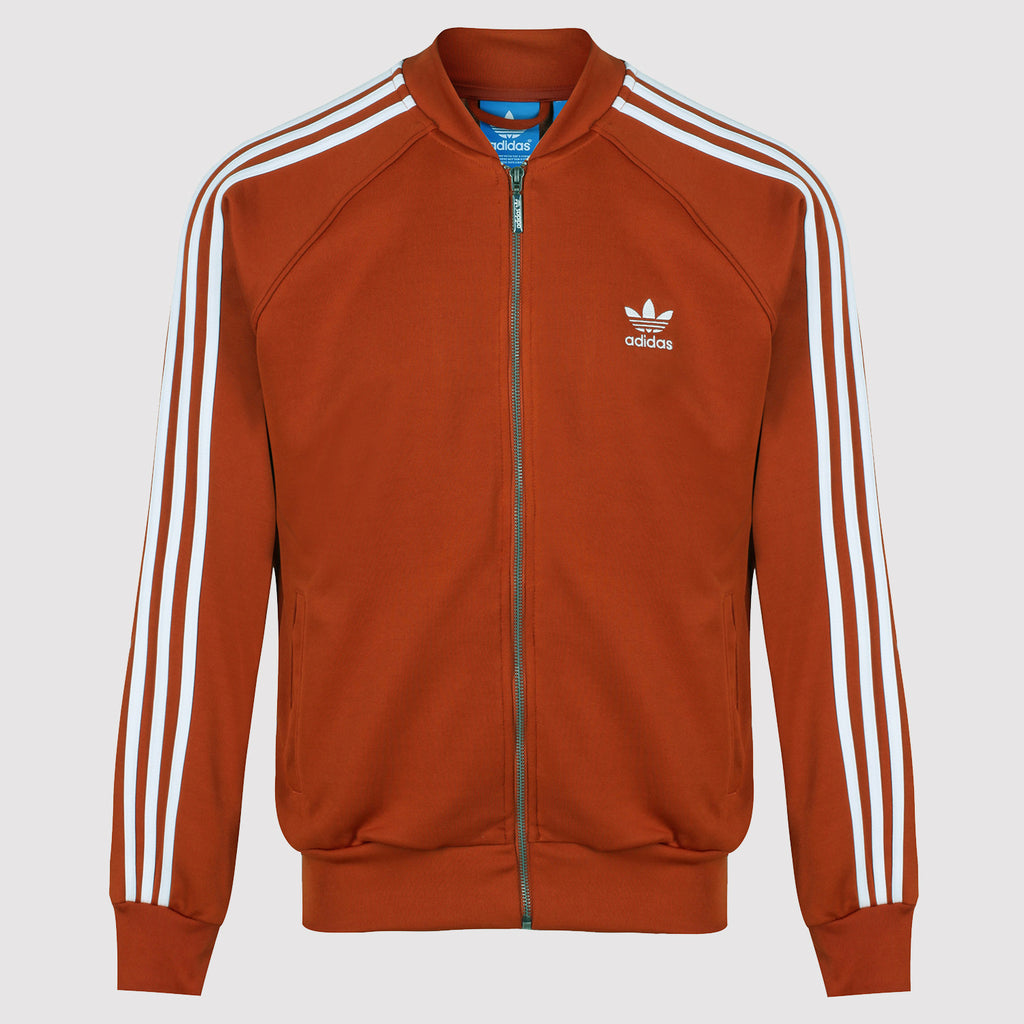 adidas Originals Superstar Track Top - Fox Red - Front