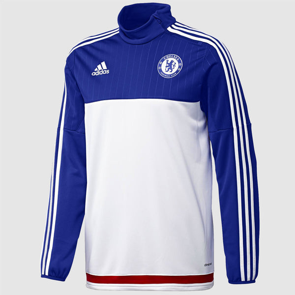 adidas Chelsea FC Training Top - White/Blue - Front
