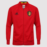 adidas Belgium Anthem Jacket - Red - front - AC5818