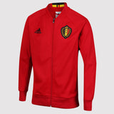 adidas Belgium Anthem Jacket - Red - front 2 - AC5818