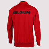 adidas Belgium Anthem Jacket - Red - back - AC5818