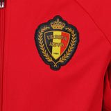 adidas Belgium Anthem Jacket - Red - logo - AC5818