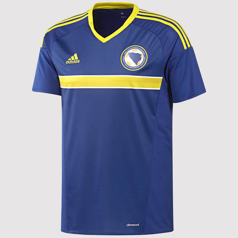 adidas Bosnia-Herzegovina National Team Home Jersey - Blue