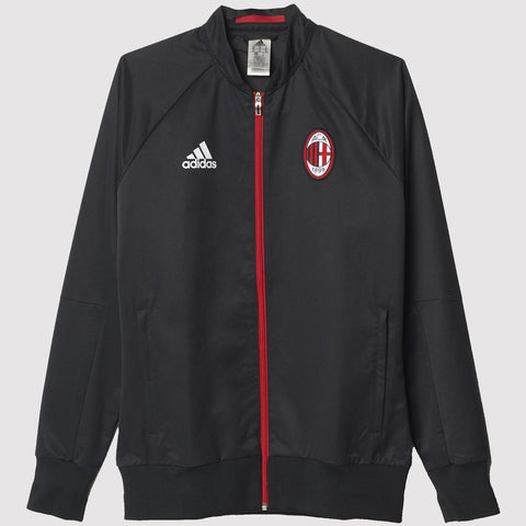 adidas AC Milan Anthem Jacket - Black
