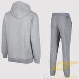 adidas Originals Classic Trefoil Fleece Tracksuit - Grey - back