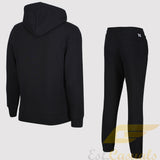 adidas Originals Classic Trefoil Fleece Tracksuit - Black - back