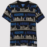 adidas Originals x Nigo LA Palm Tree T Shirt - Black - front