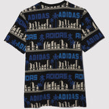 adidas Originals x Nigo LA Palm Tree T Shirt - Black - back