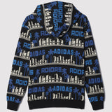 adidas Originals x Nigo LA Palm Tree Hoodie - Black - back