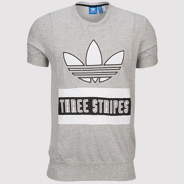adidas Originals Brand T Shirt - Grey - AY9294