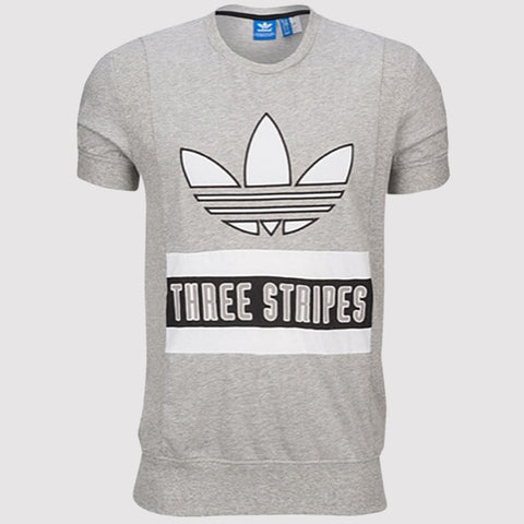 adidas Originals Brand T Shirt - Grey