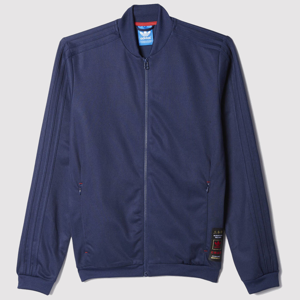 adidas Originals Budo Superstar Track Jacket - Navy - AZ6365