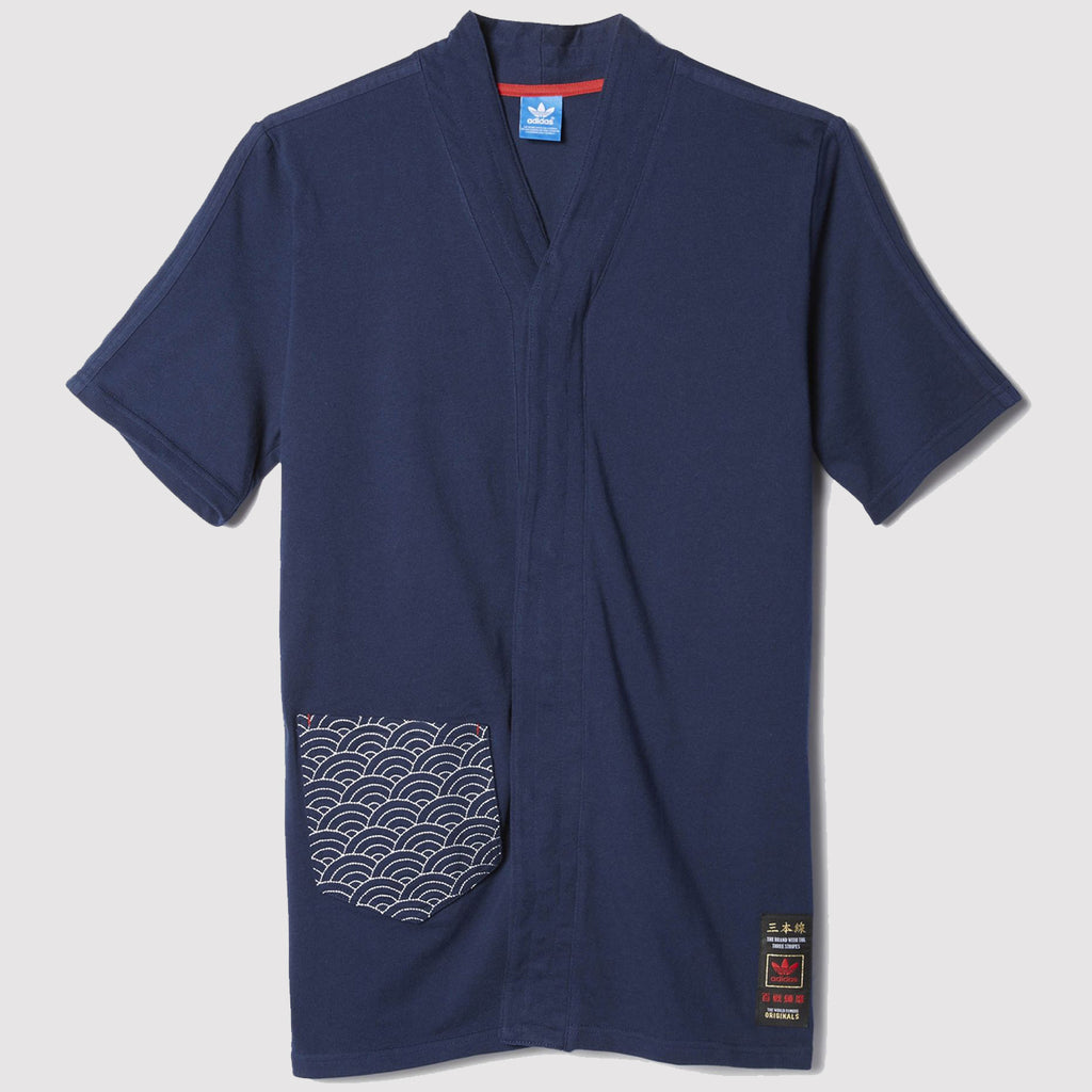 adidas Originals Budo Advanced T Shirt - Navy - AZ6367