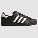 adidas Originals Superstar Trainers - Black/White - front