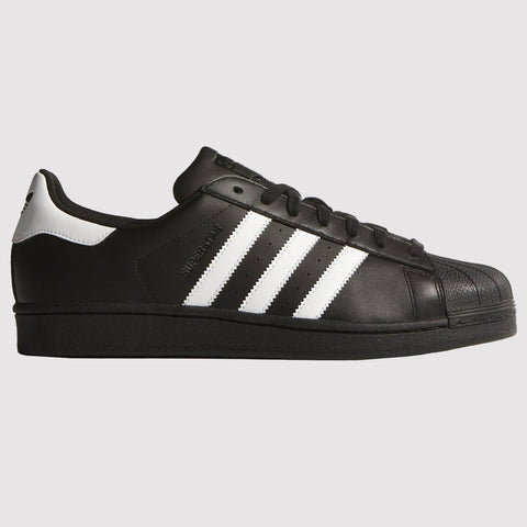 adidas Originals Superstar Trainers - Black/White
