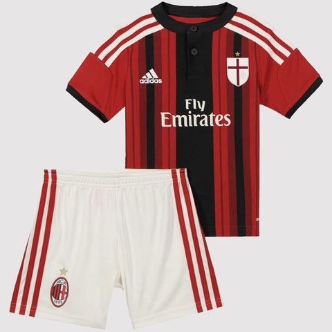 adidas AC Milan Home Mini Kit Infants - Red