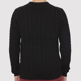 Farah Vintage Kirtley Jumper - Black - Back
