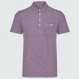 Farah Vintage Men's Tennyson Polo - Bordeaux Red - front