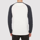 Farah Zemlack Long Sleeve T Shirt - Navy - Back