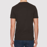 Farah Denny Slim Solid T Shirt - Black - Back