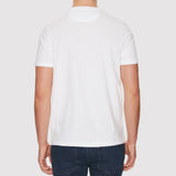 Farah Denny Slim Solid T Shirt - White - Back