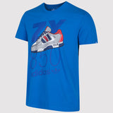 adidas Originals ZX 850 T Shirt - Blue - front2