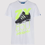 adidas Originals ZX 850 T Shirt - White - front1