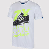 adidas Originals ZX 850 T Shirt - White - front2