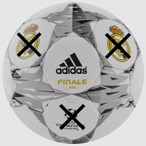 adidas Real Madrid Size 0 Ball