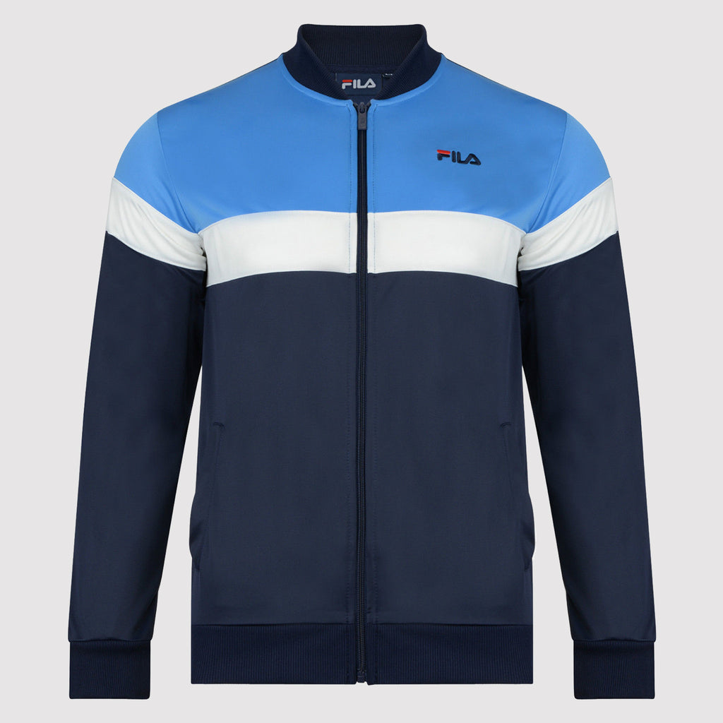 Fila Poly Men's Track Top - Blue - Jacket