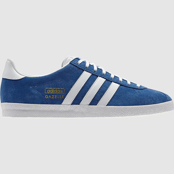 adidas Originals Men's Gazelle OG Trainer - Blue - side