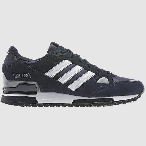adidas Originals ZX 750 Trainer - Navy - side