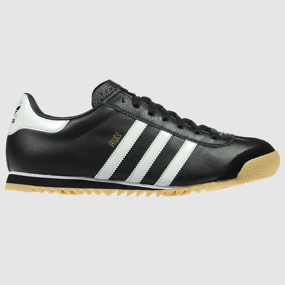 adidas Originals Men's Rom Trainers - Black - Side
