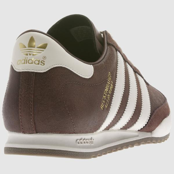 45537715c072 adidas Originals Men s Beckenbauer Allround Trainers - Brown – Est Casuals