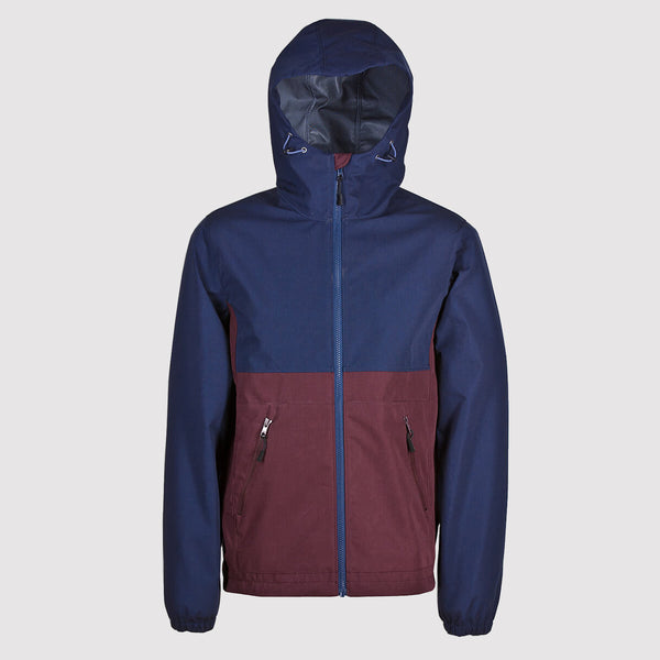 Weekend Offender Whillan Coat - Navy - Front