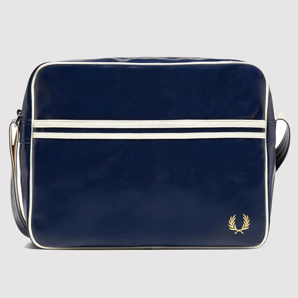 Fred Perry Classic Shoulder Bag - Navy - front L1180 608