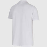 Lacoste Pique Polo Shirt - White - back2